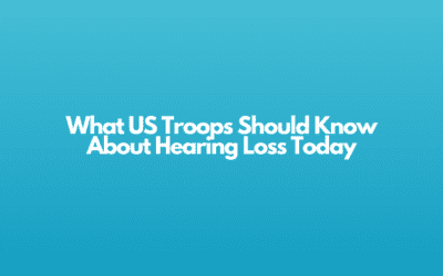 What US Troops Should Know About Hearing Loss Today